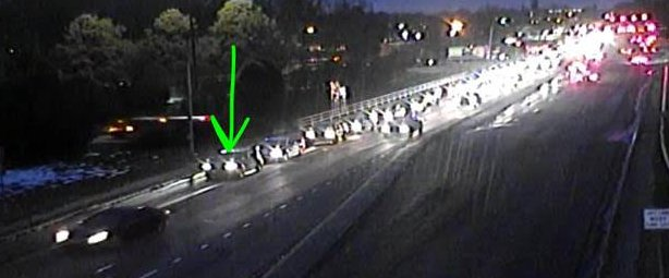 ►►Beatties Ford Rd inbound at I-85 The RIGHT lane is blocked by this wreck #CltTraffic #Charlotte #Clt<br>http://pic.twitter.com/wrX9ZncvDx