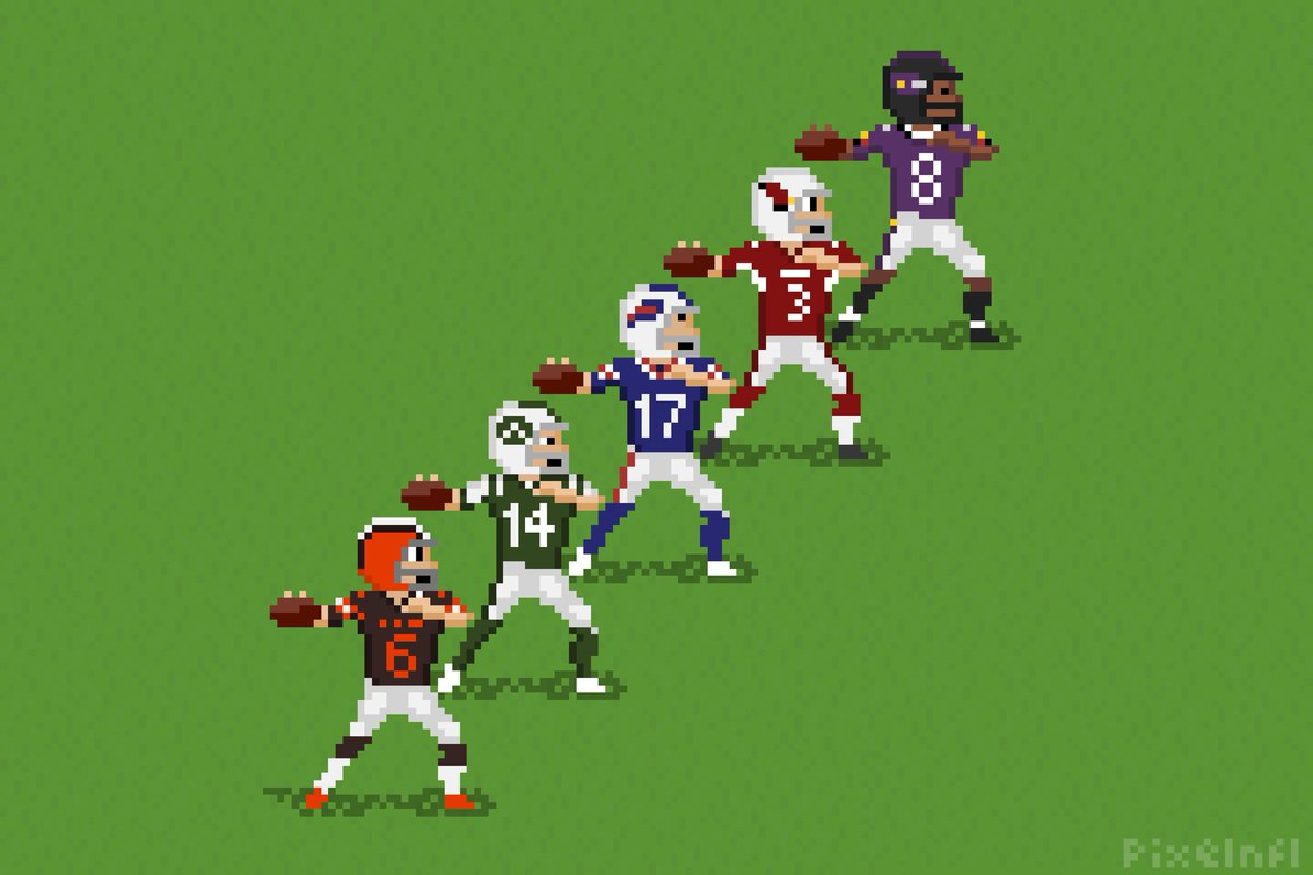 Pixel Nfl On Twitter Rookie Qbs How Would You Rank Them