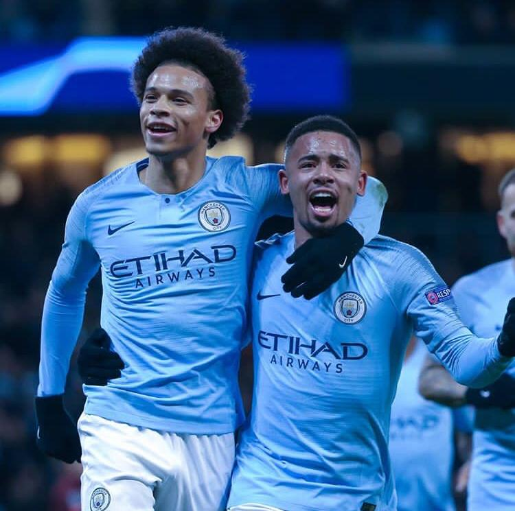 Group winners 🔥⚽️🔥 #LS19 #inSané @ManCity