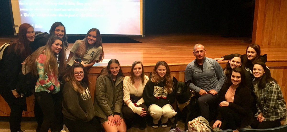 Victor and I had the honor of spending yesterday at Merrimack High School in Merrimack, NH. I spoke to 8 Sophomore classes about leadership, perseverance, and resiliency. A wonderful day with students and faculty.
