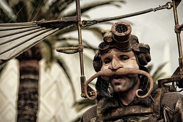 "Steampunk... Horrorshow? ""Carnageval"" by Fabien Agon #steampunk #Horrorshow #cosplay #picoftheday #Wow"