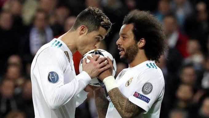 COPE: Cristiano Ronaldo called Marcelo to get him to join Juventus. Foto