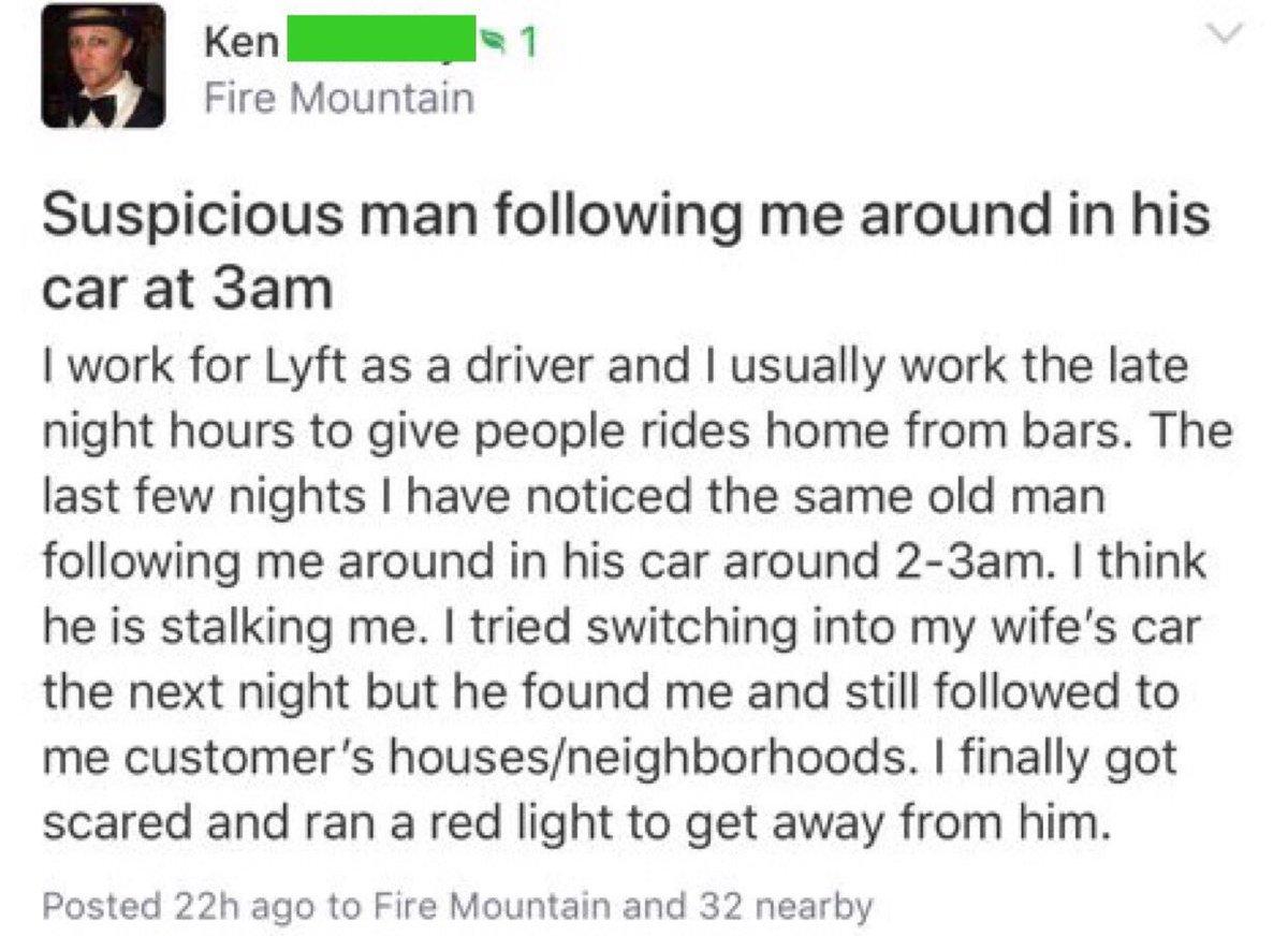 Nextdoor in two posts: