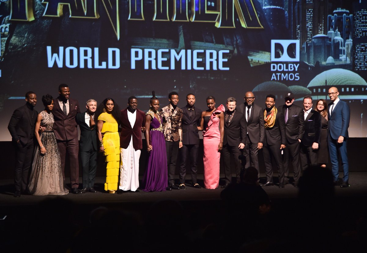 Wakandans, assemble! Thank you to our fellow actors for nominating our ensemble for a #SAGAward. Phambili! 🙅🏿♀️ #BlackPanther