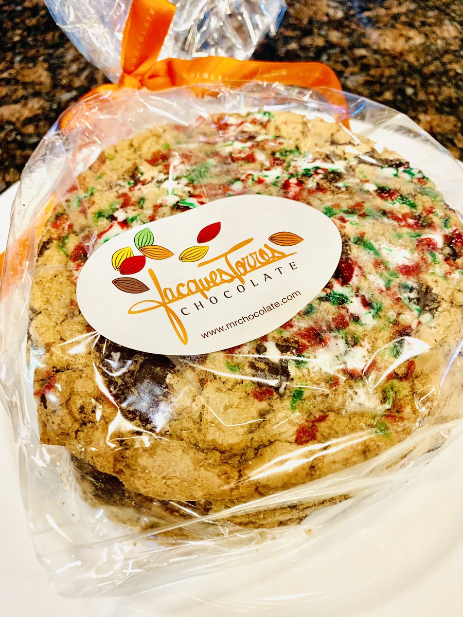 Got a delicious delivery in the mail today!😋 The best cookies ever! Limited Edition Holiday flavor! @jacquestorres