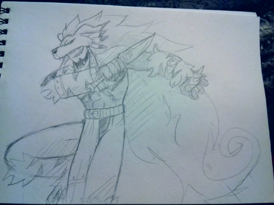 finally got mercurymon!  so heres a quick drawing before i go to bed. Hacker&#39;s memory is back on Friday! #digimon<br>http://pic.twitter.com/M8vzRDfWzg