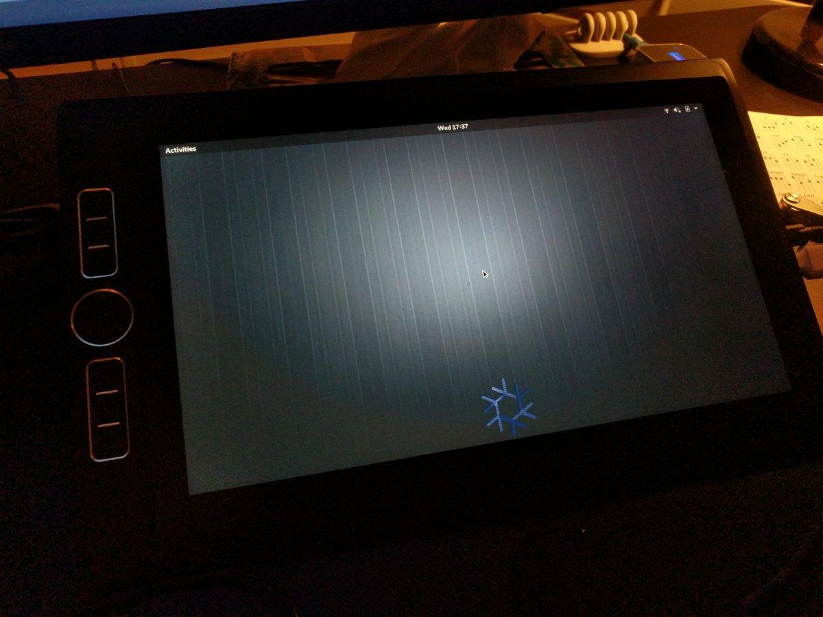 Wacom Mobilestudio Pro with GNOME/Linux