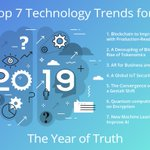 Image for the Tweet beginning: Which technology trends will create