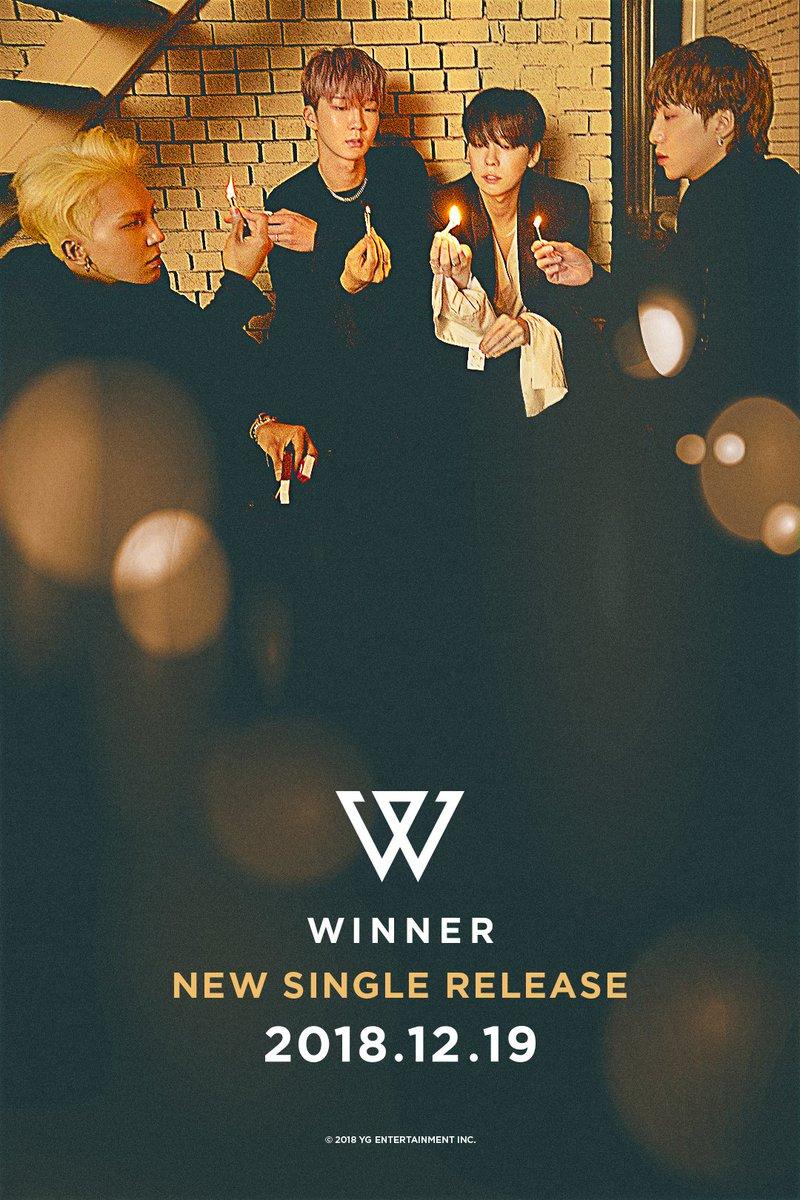 #WINNER COMEBACK TEASER  New Single Release ✔️ 2018.12.19  #위너 #NEW_SINGLE #COMINGSOON #20181219 #YG