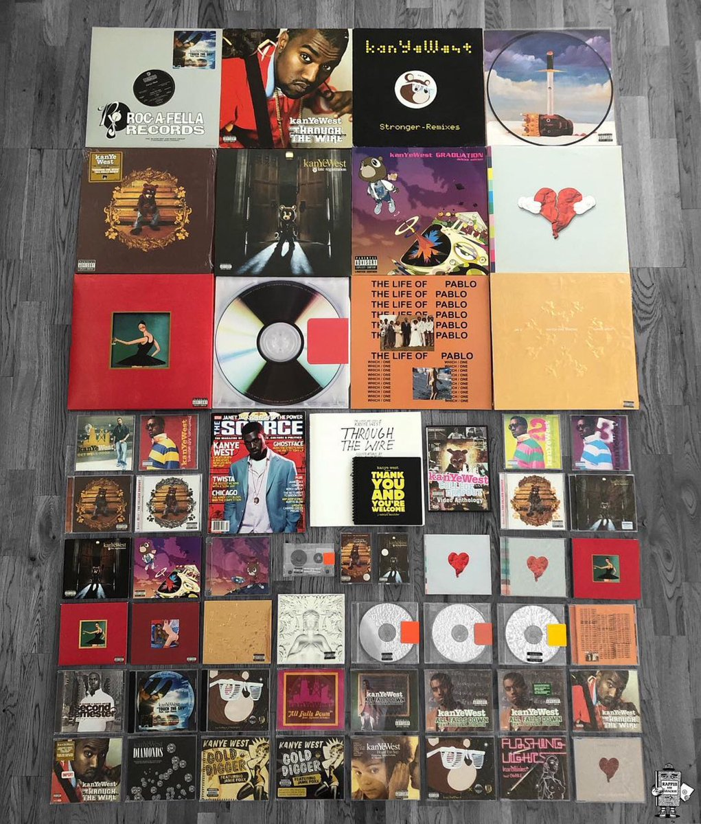 Which one of these albums made you a fan of @kanyewest? <br>http://pic.twitter.com/BDAMpyQz9j