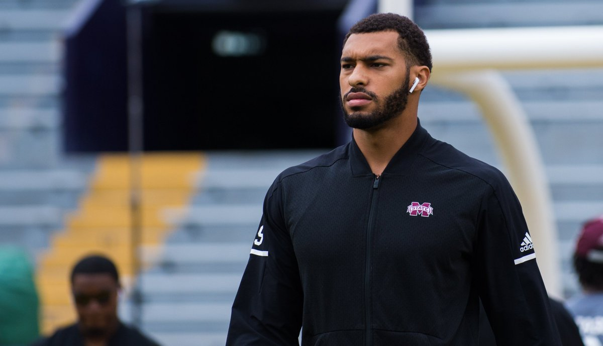 In Todd McShay&#39;s mock draft, which was aired on ESPN, he included three Bulldogs in the first-round:  -Montez Sweat to the Green Bay Packers at 15 -Jeffery Simmons to the Seattle Seahawks at 24 -Johnathan Abram to the Los Angeles Rams at 30 #HailState<br>http://pic.twitter.com/c9OqmPDPXI