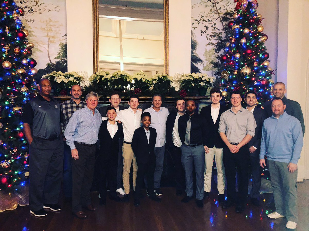 Managers appreciation Christmas dinner at Lexington Country Club. Great people who make a difference!Success is in their future.Thanks for all you do for the players, staff and the program!!!