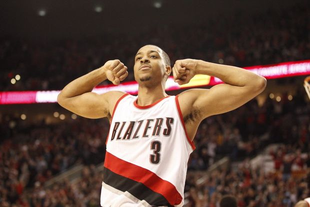 CJ and the rest of the team really needs to step up their scoring tonight with Conley giving Damian trouble on the offensive end.  CJ is doing his part going 8-11 from the field with 20 pts.  #RipCity