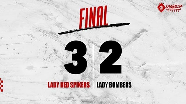 #NCAASeason94 Lady Red Spikers survive Lady Bombers to stay unbeaten in women's volleyball! #AnimoSanBeda  https:// ift.tt/2Qrwvu1  &nbsp;  <br>http://pic.twitter.com/Az4e8Ncmwf