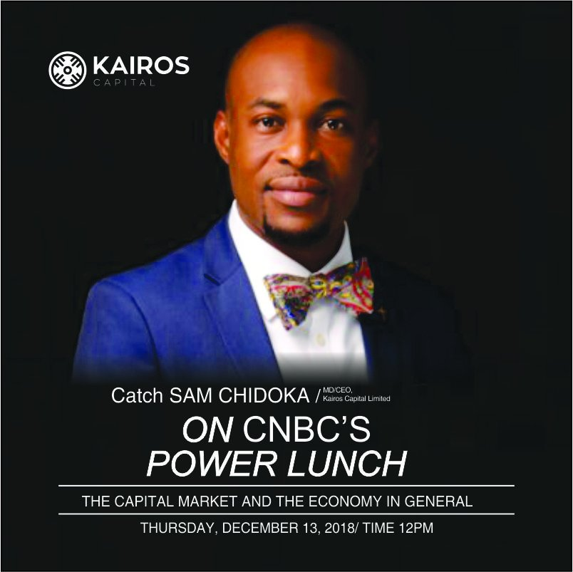 Follow the discussion on CNBC'S @PowerLunch  as our MD/CEO, @Samchidoka , analyses the capital market and the economy.<br>http://pic.twitter.com/1A6lQ6UYSs