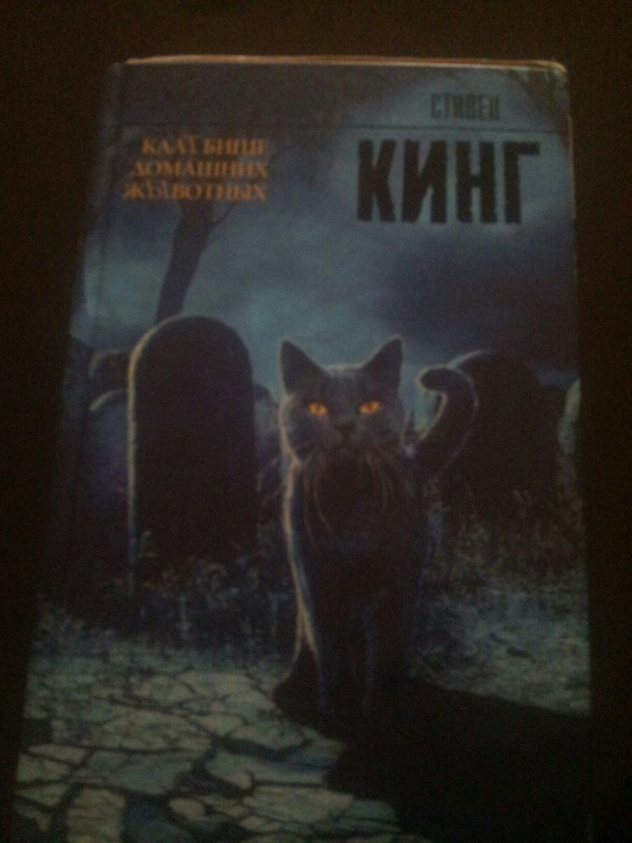 I read it and say one thing: THAT WAS AWESOME!!! P.S. Yeah, I read russian version. But even so cool!!! #PetSematary #StephenKing #Awesome<br>http://pic.twitter.com/qsCrkzQWyQ