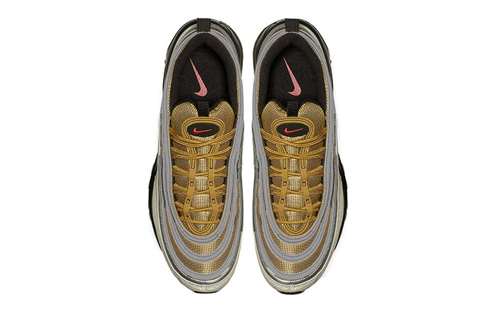 437d3293 Footlocker > http://bit.ly/2PwGRDE More stores  at:https://fastsole.co.uk/sneaker-release-dates/air-max/nike-air-max-97- silver-gold-bv0306-001/ …