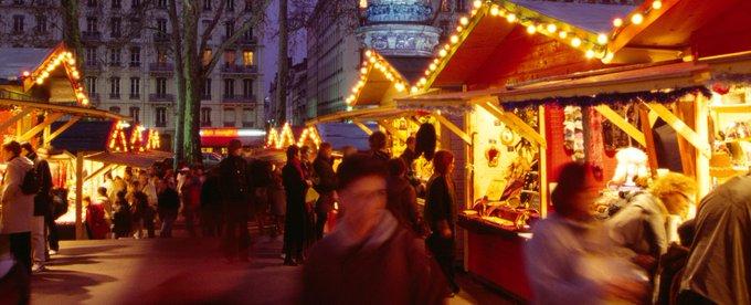 #Strasbourg : surveillance accrue sur tous les autres marchés de Noël. Reportage à Lyon, place Carnot, avec @FPerruche à 6h30 dans #RTLPetitMatin > Photo