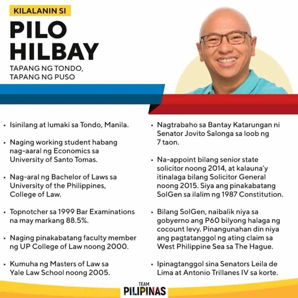 Just because you don't take an interest in politics doesn't mean that politics won't take an interest in you. We, Filipinos, are in this together. Get to know your opposition senate candidates, and please, do go out and vote in May 2019.  (1/2) <br>http://pic.twitter.com/WigLaARlue