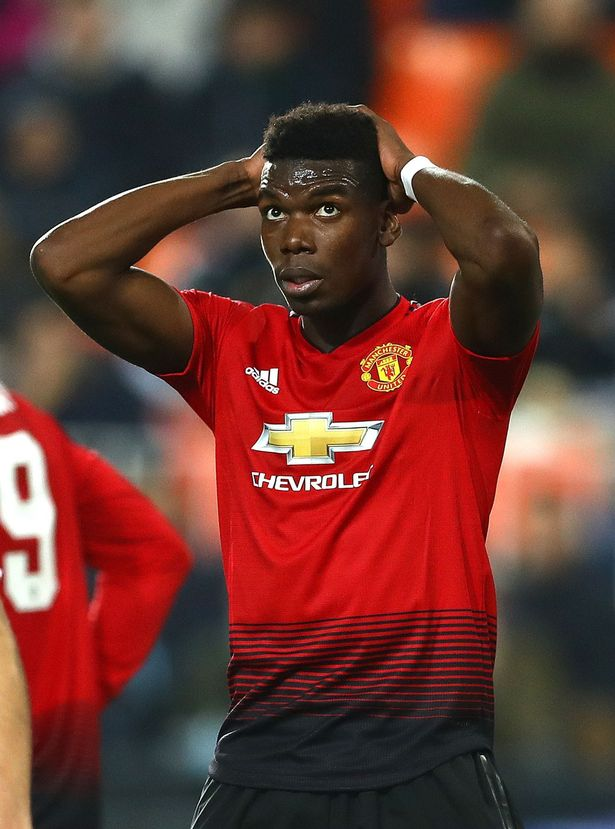 Valencia defeated Manchester United 2-1 in the Champions League;Paul Pogbas miss & Phil Jones own goal meant that Manchester United passed up the chance to win Champions League Group H; United are already assured of qualification for the knockout stages #MUFC