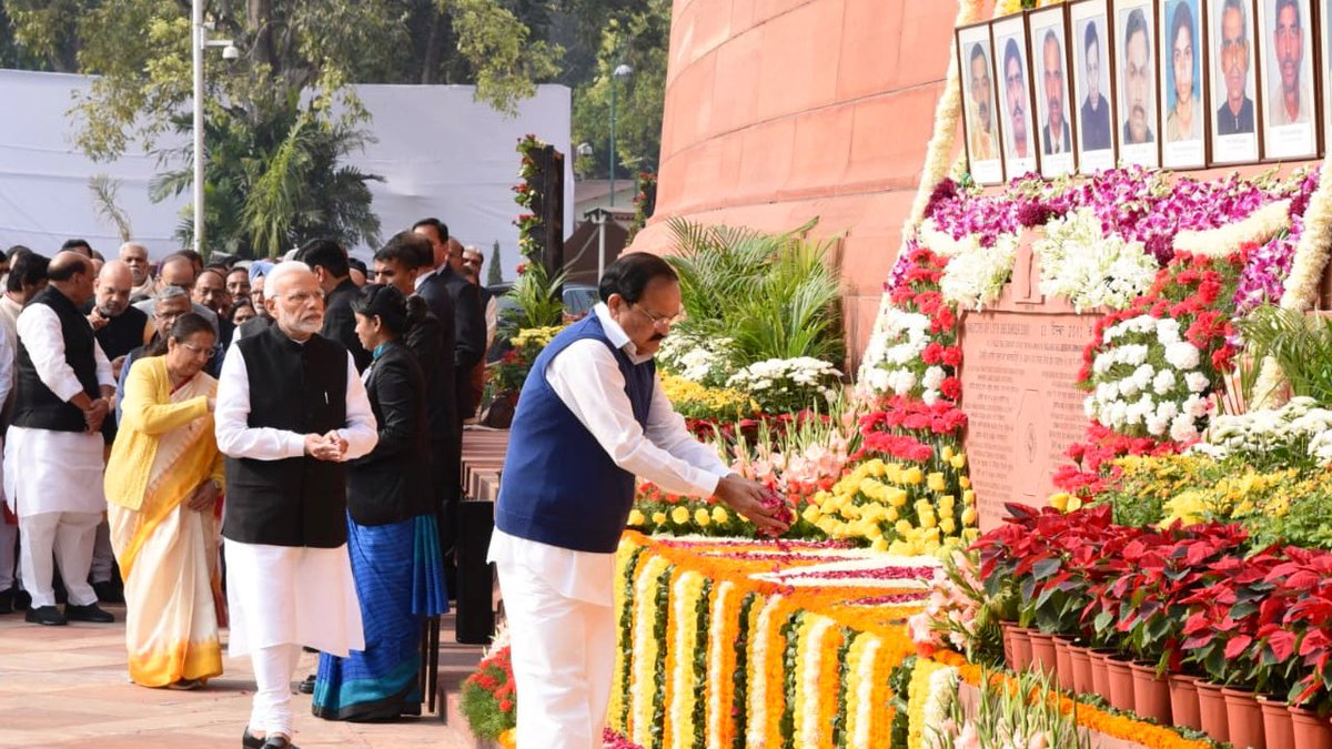 Tribute paid to Parliament attack martyrs