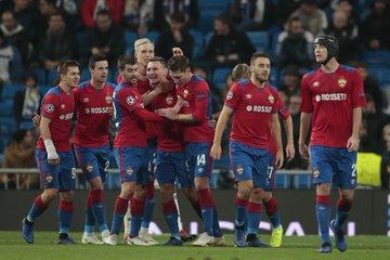 0027ed0432314 Армейцы завершили выступление в еврокубках, разгромив в Мадриде  действующего победителя Лиги чемпионов.