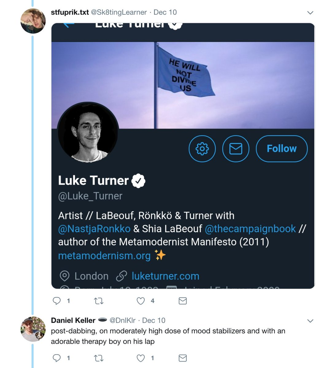 Luke Turner on Twitter: