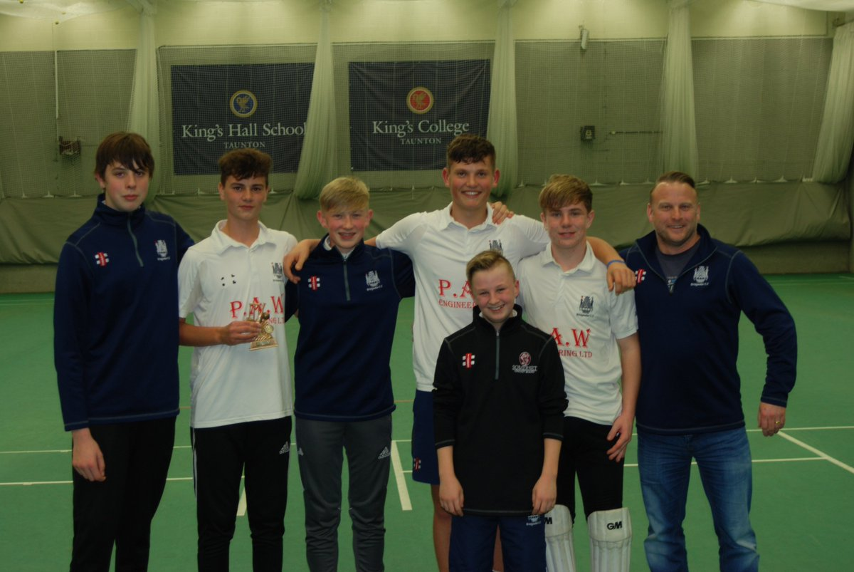test Twitter Media - 🥳🎉Party time for @BridgyCC U17 team who finished top of our indoor league.  Thanks to all the teams that took part #TauntonDeane #OverStowey #LongSutton #ThePointers #Wembdon https://t.co/HxO8a6IkgI