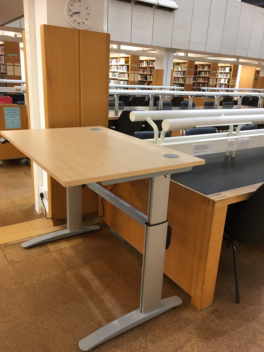 English Faculty Library On Twitter Our Adjustable Desk Upstairs Is