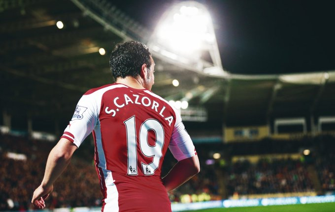 Happy birthday to the our Little Magician, Santi Cazorla! Love this man!