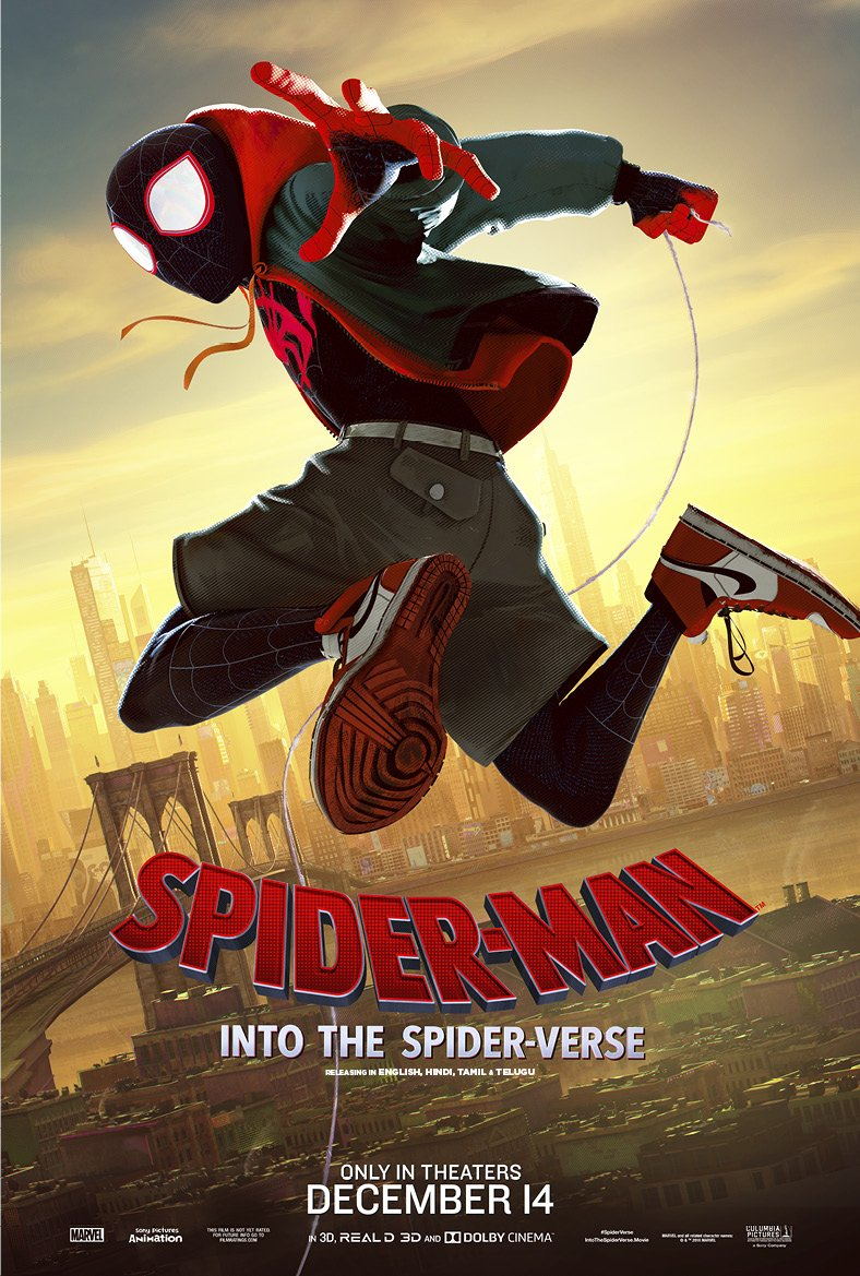 Question 3: Spider-Man: Into the Spider-Verse has received a Best Animated Feature nomination at the 75th Golden Globe Awards? True or False @SonyPicsIndia #SpiderManIntoTheSpiderVerse #ContestAlert #SpiderVerseOnBOI