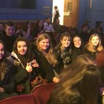 Image for the Tweet beginning: Performing Arts students enjoying the