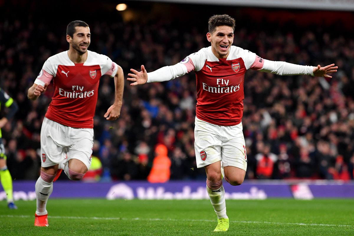 Arsenal&#39;s performance in the Premier League so far:  1st half:  PL position: 19th Points: 12 Goals for: 9 Goals against: 13  2nd half:  PL position: 1st Points: 38 Goals for: 26 Goals against: 7 <br>http://pic.twitter.com/oGue6Lcgcp