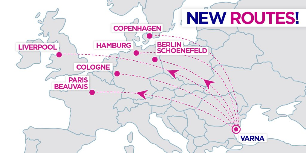 Wizz Air Expands At Varna 1 New Aircraft 6 New Routes Higher Frequencies Aviation24 Be