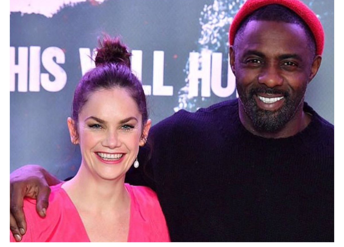 Ruth Wilson &amp; Idris Elba at the Press screening of #Luther which is set to premiere Jan 1st on @bbcone!   Ruth Wilson will be reprising her role as Alice Morgan in season 5!<br>http://pic.twitter.com/ljBzgOeBZU