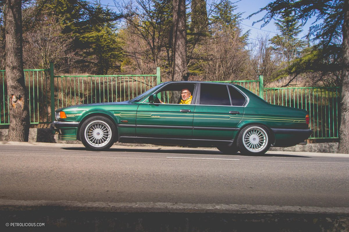 BMW ALPINA B11 3.5 ....make you green with envy https://bit.ly/2EhJtDp