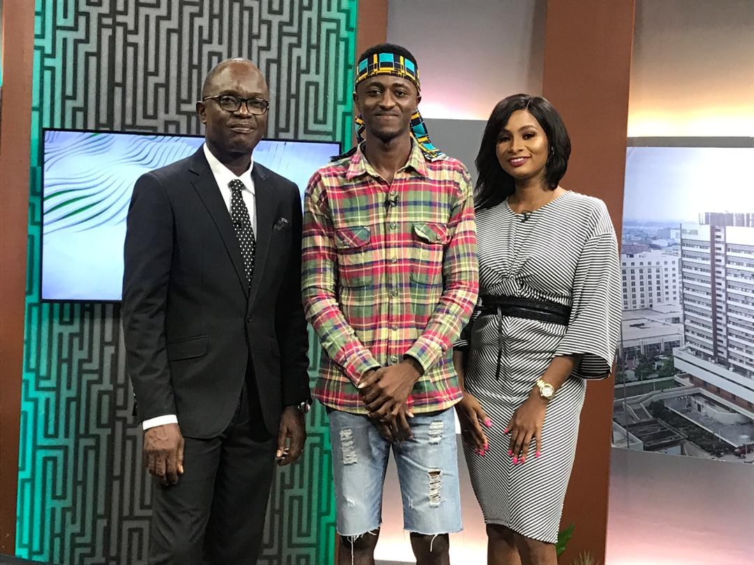 Had the chance to talk abt my music and dance life and my new song #mercy on the morning show at hstv .   #mercy link on my bio<br>http://pic.twitter.com/X4jrlBPpFr