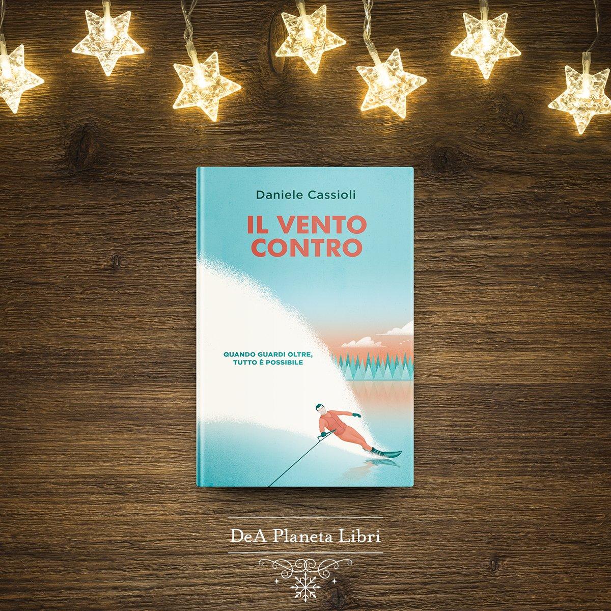 """.@Danielecassioli, il campione paralimpico di sci nautico più forte di tutti i tempi e non vedente dalla nascita, racconta la sua storia. """"Il vento contro"""" descrive la sua scoperta del mondo e il superamento delle paure, con tono sincero e spiazzante http://bit.ly/IlVentoContro"""