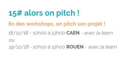 La semaine prochaine : on pitch son #projet #innovant ! En route pour le dernier #WorkshopsByNI de la saison :…