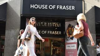 HabariCloud Today's photo on House of Fraser