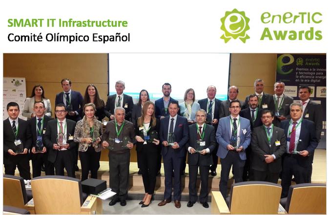 Enhorabuena a todos los finalistas y premiados de los #enerTICAwards! y muy especialmente al...