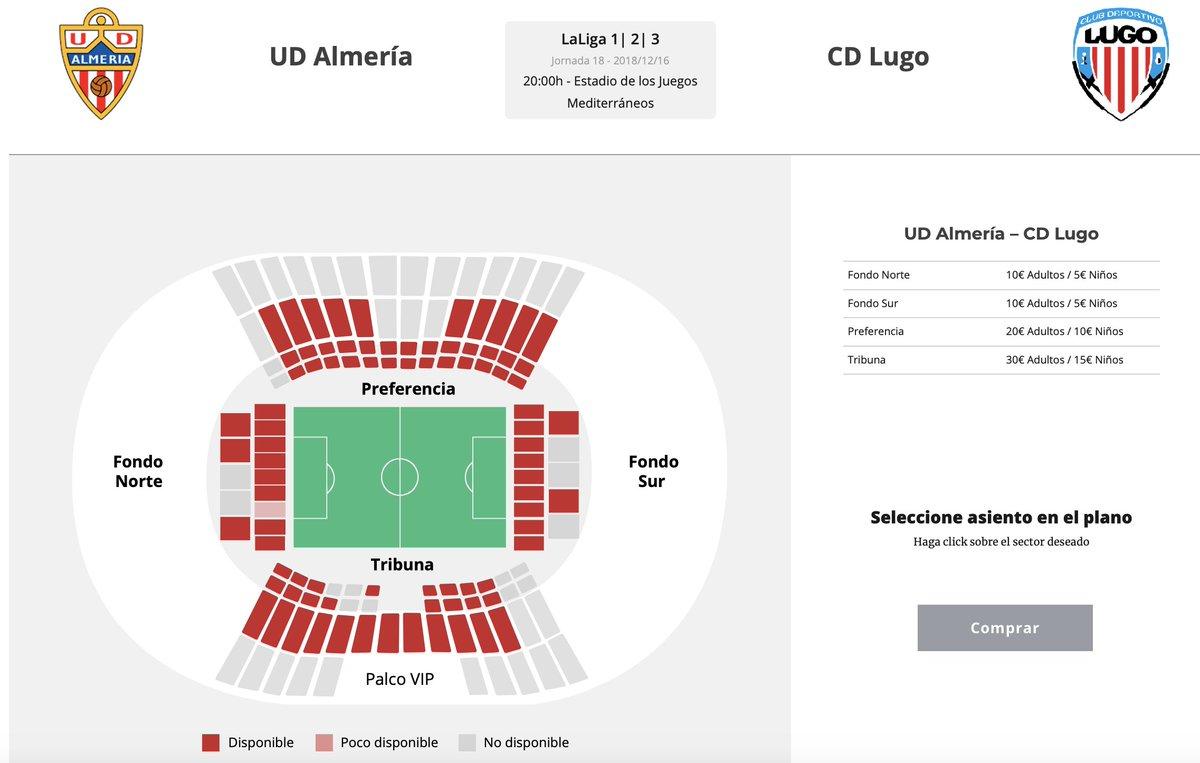 🎟 ¡Ya puedes comprar tus entradas para el #AlmeríaLugo! ➡️ tickets.udalmeriasad.com/entradas/ud-al…