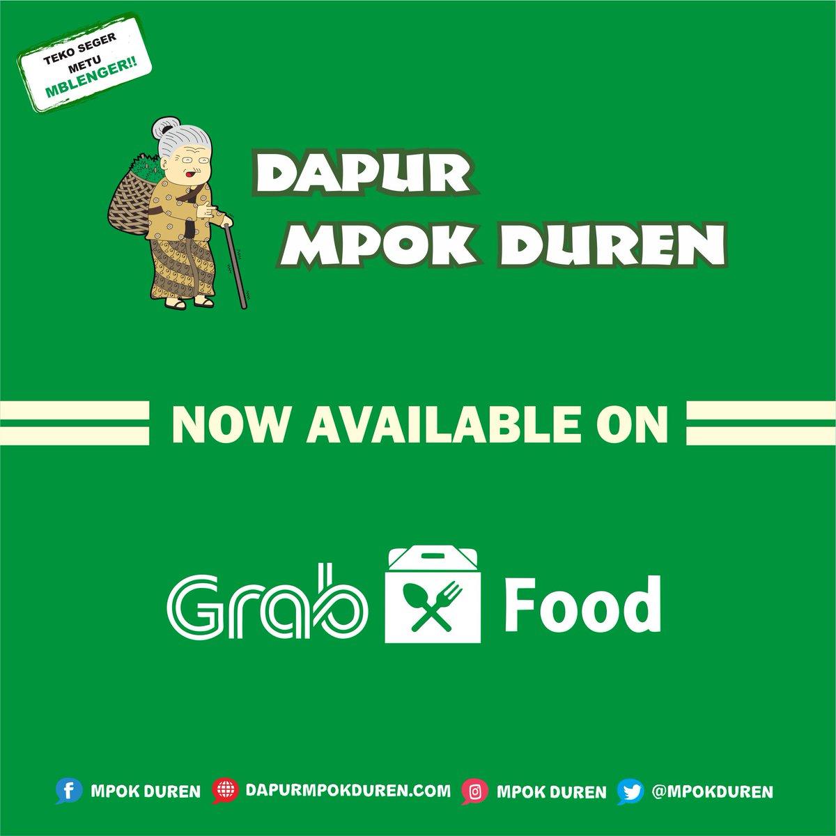 Dapur Mpok Duren On Twitter Now Available Pesan Antar Grab Food