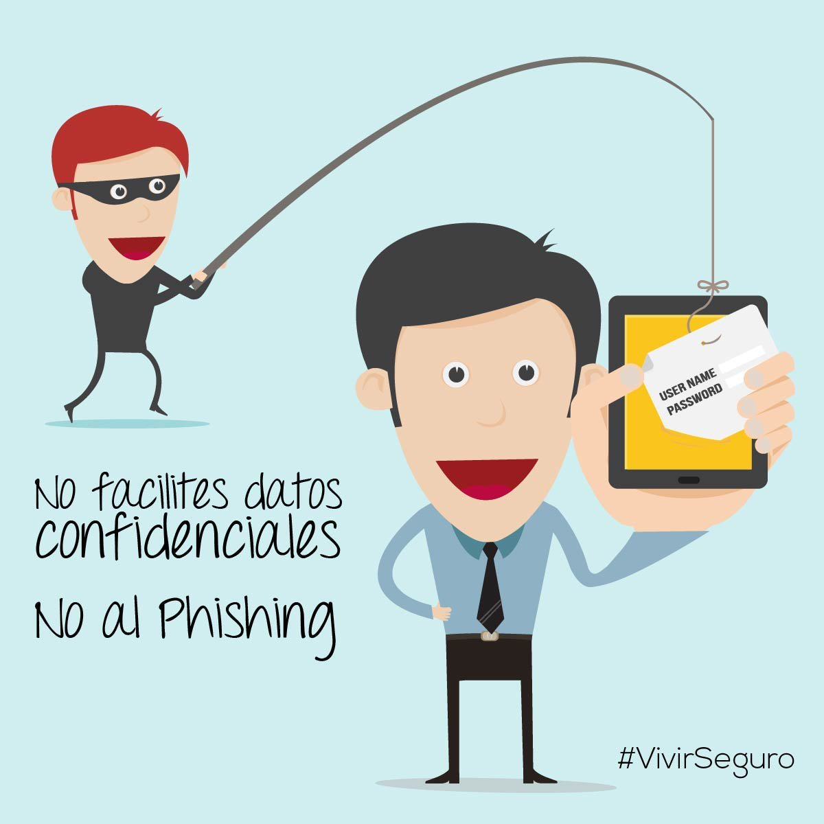 ¿Has recibido un 📨 email sospechoso de tu banco o incluso de una entidad de la que no eres cliente? #Desconfía➡ Podría tratarse de un intento malicioso de obtener tus datos personales y 💲financieros #phishing #ciberseguridad