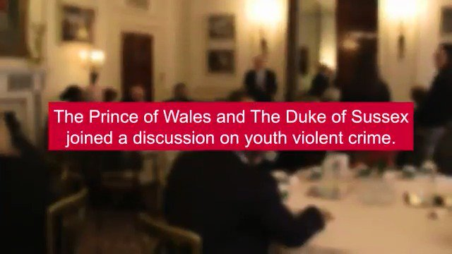 Be inspired by Their Royal Highnesses The Prince of Wales and The Duke of Sussex who joined Young Ambassadors, families and community organisations at @ClarenceHouse yesterday to discuss solutions to help reduce youth violent crime > goo.gl/r3dpgg #YouthCanDoIt >