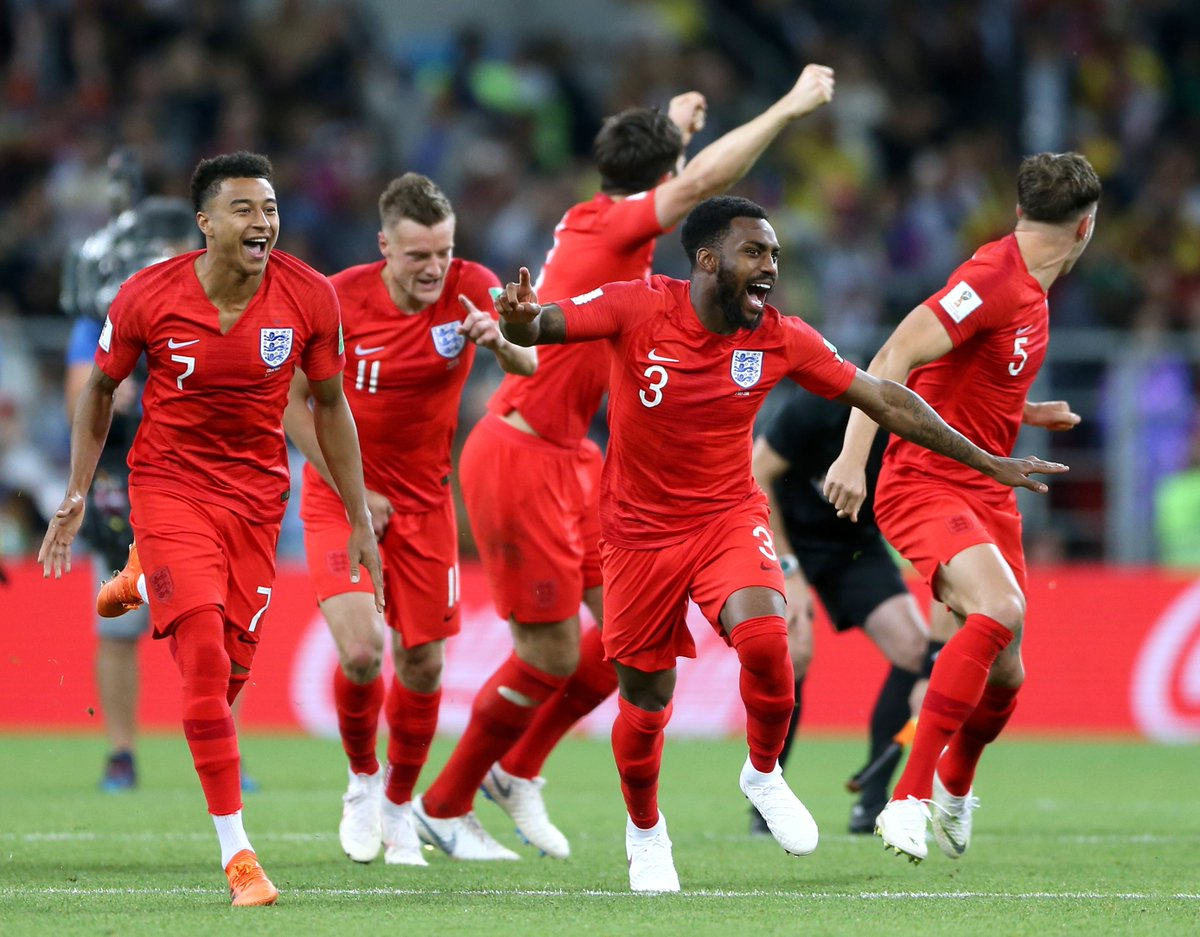 Englands penalty shoot-out victory over Colombia is currently the strong favourite for moment of the year in the BBC SPOTY awards... Wont ever forget the moment Dier stuck that pen away! 😭🍻😭🍻😭🍻