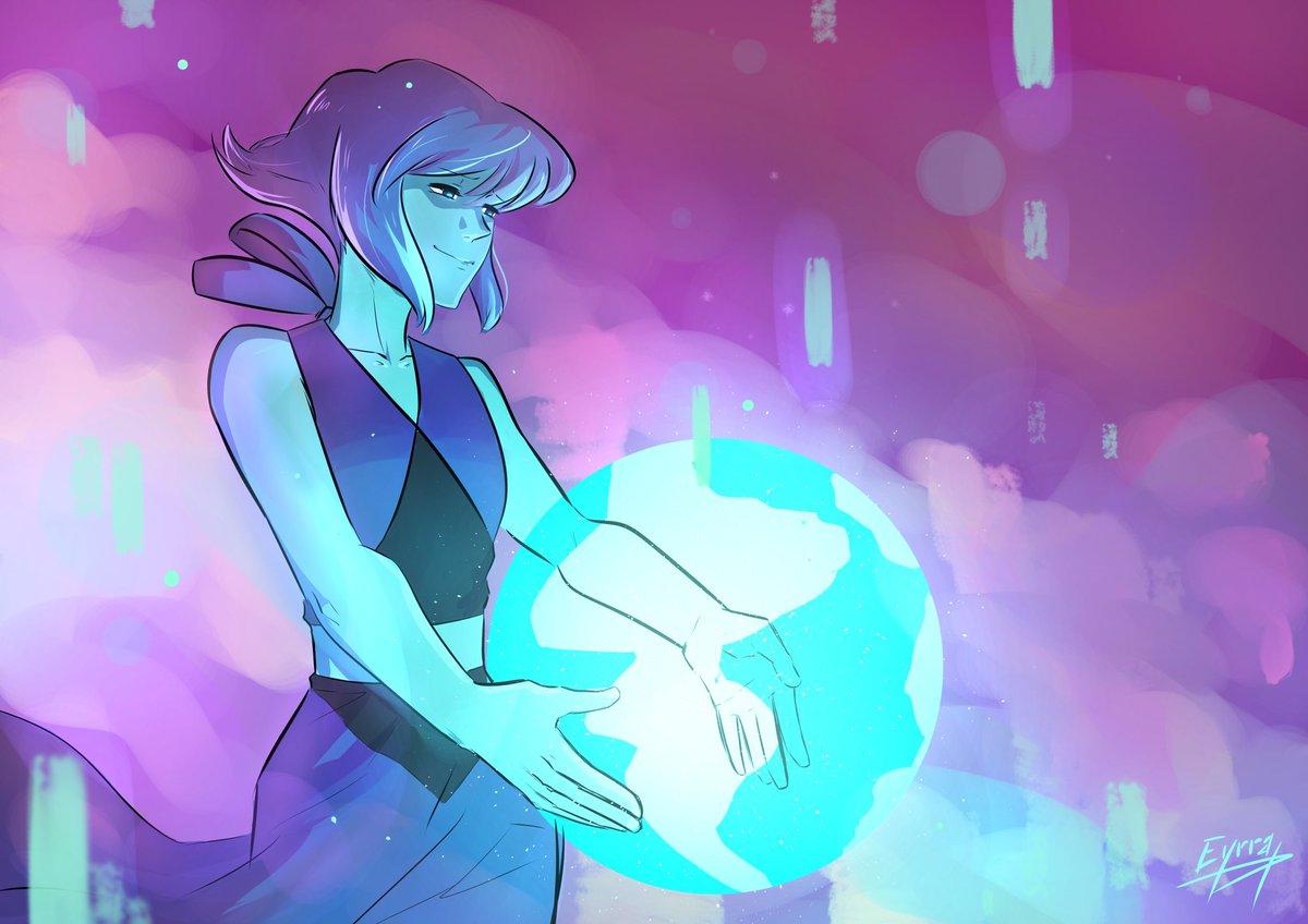 Fan art de Lapis Lazuli de Steven universe ! Ce dessin date de juillet mais j'avais quand meme envie de le mettre ici 😂👌#StevenUniverse