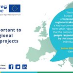 Interregional cooperation delivers real, tangible #benefits in #regions all over Europe. What does #interregionalcooperation mean to you? How do you see the #future of interregional cooperation?  Share your thoughts: https://t.co/huLNzMP58c