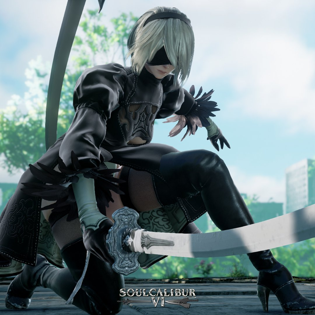SoulCalibur VI Adds 2B To Its Roster Later This Month