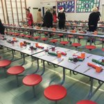 Ready and waiting for Xmas lunch - just need some hungry children now #excited